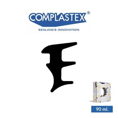 Guarnizione vetro interna Complastex serie UP Nera 7 mm art. UP7