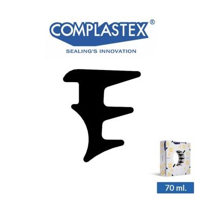 Guarnizione vetro interna Complastex serie UP Nera 8 mm art. UP8