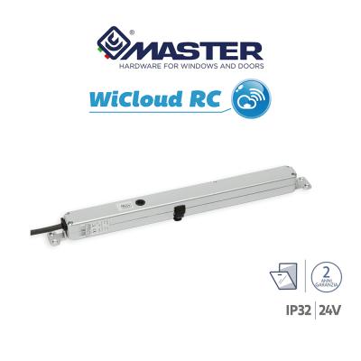 WICLOUD RC 24V Master attuatore radio a catena a scomparsa per finestre vasistas o a battente