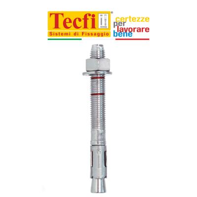 ZJE01 Tecfi tassello ancorante dado e rondella in acciaio zincato