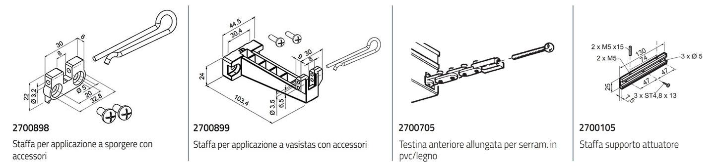 Attuatore Mingardi Micro KIT