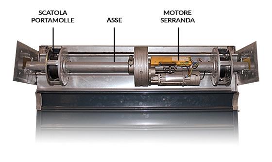 Motore per serrande Somfy Pujol Winner Pro